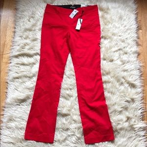Express red ❤️ Columnist pants. NWT!